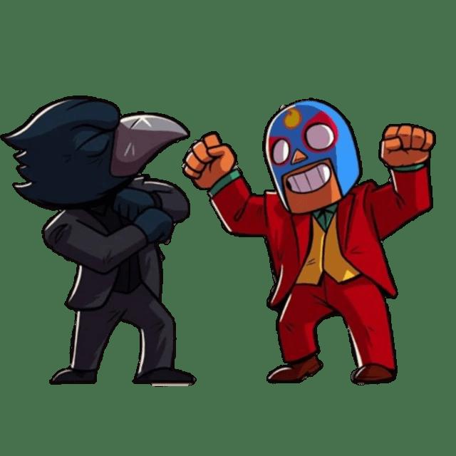 Ворон с Эль Примо танцуют как Джокер